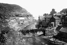Photo of Staithes, the Bridge 1886