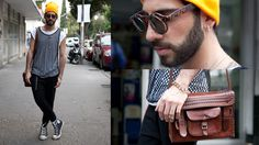 <3 lentes Police  Looks Time Out México #streetstyle