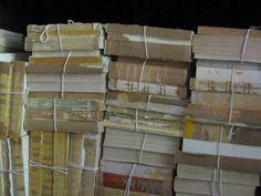 VIntage Book Bundle, Shabby Chic. $15.00, via Etsy.