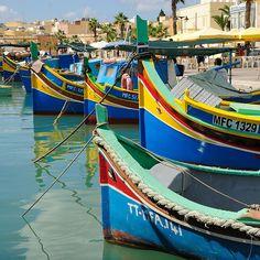 Fishing boats, Marsaxlokk