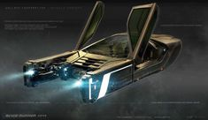 concept ships: Police Spinner by George Hull