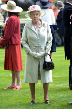 Queen Elizabeth II attends day two of Royal Ascot at Ascot Racecourse on June 18, 2014 in Ascot, England.