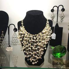 Tassled Junk Jewellery with Golden Work