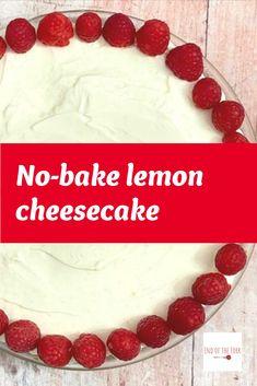 Best Dessert Recipes, Fun Desserts, Delicious Desserts, My Favorite Food, Favorite Recipes, Lemon Cheesecake Recipes, Rich Tea, Refreshing Desserts, Cream Cheese Spreads