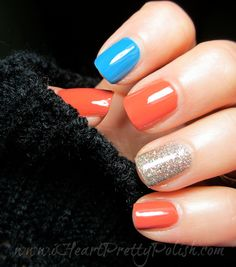 My 4th of July Manicure ft. Julep Nan, OPI Suzi Says Feng Shui, and Shimmer Polish Irene