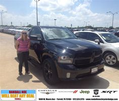 #HappyAnniversary to Amber  Buechler on your 2014 #Ram #1500 from Everyone at Randall Noe Chrysler Dodge Jeep RAM!