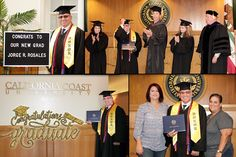 CCU was proud to celebrate the graduation of 👨🎓 Jorge Rosales who recently traveled from Miami, FL to have his Bachelor of Science in Criminal Justice degree awarded. In addition, we would also like to congratulate Jorge on earning his degree with honors 🎓 Cum Laude!  From everyone here at CCU www.calcoast.edu, we wish you continued success with your career and hope you continue to reach your goals! Welcome to the California Coast University Alumni family! #college  #graduation #photos
