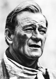 John Wayne in The Alamo (1960
