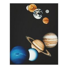 Customizable #Asteroid #Astronomy #Backgrounds #Digitally#Generated#Image #Discovery #Drawings #Galaxy #Home #Illustration#And #Jupiter #Majestic #Mars #Mercury #Neptune #Photography #Planet #Planet#Earth #Saturn #Science #Solar#System #Space #Sphere #Uranus #Venus Planet Composition Canvas Print available WorldWide on http://bit.ly/2fxVrcO