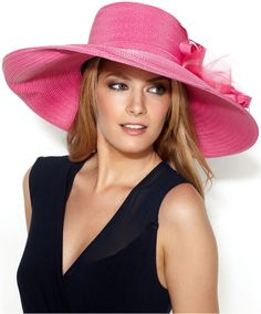 August Hats Marielle Large Romantic Profile Hat on shopstyle.co.uk