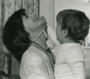 Jacqueline and JFK Jr.