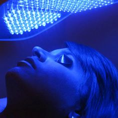 No antibiotics, No harsh chemicals, blue light therapy for acne. New Trend.