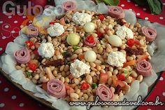 Salada de Soja » Receitas Saudáveis, Saladas » Guloso e Saudável