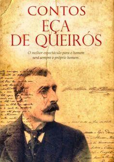 """Capa do livro """"Contos de Eça de Queirós"""" de Eça de Queirós."""