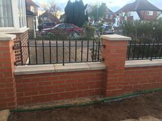 RSG4200 railings fitted to a residential property in Surrey.
