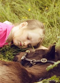 20 Adorable Photos: Kids And Horses That Will Melt Your Heart – Page 3 – The Paws Pretty Horses, Horse Love, Beautiful Horses, Animals Beautiful, Animals For Kids, Baby Animals, Cute Animals, Horse Pictures, Horse Photos