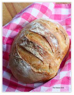40-Cent No-Knead Bread | FaveHealthyRecipes.com
