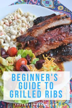 Learn how to grill ribs the easy way on a gas or charcoal grill...all you need is BBQ sauce, your favorite rub, and foil and you'll be shocked at how to make ribs without any fuss and in under an hour! Barbecue has never been easier! @SmithfieldBrand @Walmart #ad #GetGrillingSmithfield #SmithfieldGrillingHero #CollectiveBias #ribsongrill