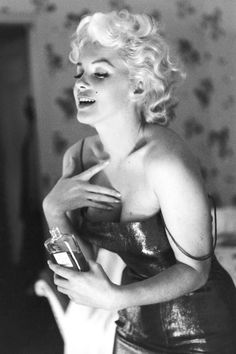 Even if you're not a fragrance girl, find a lotion, oil or body wash that's perfectly you. Pictured: Marilyn Monroe for Chanel   - HarpersBAZAAR.com
