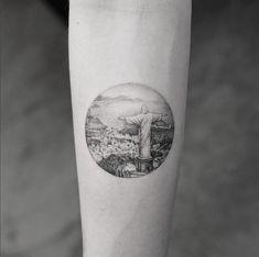 Tatuagens inspiradas em viagens: Rio de Janeiro, por Mr K (Estudio Bang Bang de Nova York)
