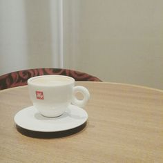 Cappuccino by illy.. a kind of goodness I can't resist..