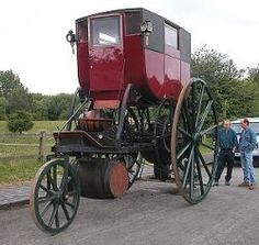 Richard Trevithick's Steam powered Carriage - one of the first 'Cars' authorbryanblake.blogspot.com