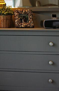 Gray Dresser with Orange Drawers Dark grey Dresser and Dark