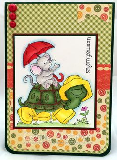 I Will Carry You [C1152] - $8.50 : Whimsy Stamps