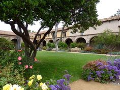 San Juan Capistrano Mission - home of the swallows.