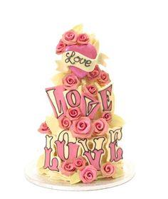Choccywoccydoodah Wedding Cake