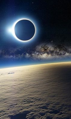 Milky Way & Eclipse
