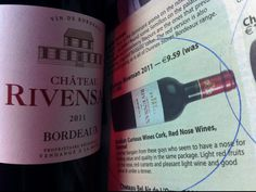 """In the press, - Ch. Rivensan Bordeaux """"Another bargain from these guys who seem to have a nose for finding value and quality in the same package. Leslie Williams, Bordeaux, Wines, Irish, Guys, Bottle, Irish Language, Bordeaux Wine, Flask"""