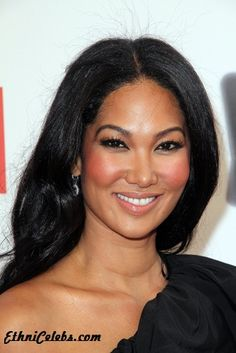 "Like Magnolia in ""A Bloom in Winter"", Kimora Lee Simmons is of Asian and African-American descent"
