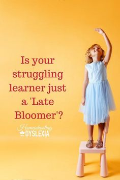 Is your struggling learner a late bloomer? Have you ever been told that your struggling learner may just be a late bloomer? While that is a comforting thought and takes some pressure off of us, it is a common misconception with serious consequences. Teaching Reading, Teaching Kids, Kids Learning, How To Start Homeschooling, Homeschooling Resources, Late Bloomer, History For Kids, Struggling Readers, Special Needs Kids