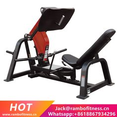 Element Fitness Iron Series 7006 Squat Press Plate Loaded Machine with Highlighted Seat Adjustment Levers, Hight Density Foam Upholstery and Rubber Feet in Black and Red Weight Lifting Equipment, Training Equipment, No Equipment Workout, Squat Press, Leg Press, Homemade Gym Equipment, Commercial Fitness Equipment, Gluteal Muscles, Rambo
