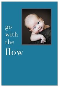 Go with the Flow Birthday card from Cardthartic