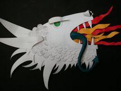 Dragón de papel