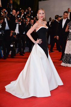 Blake Lively attends The Cannes Film Festival in May  In Gucci Première.