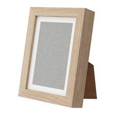 RIBBA Cadre IKEA Donnez de la profondeur à votre cadre en utilisant le passe-partout fourni.