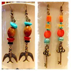 Handmade earrings!