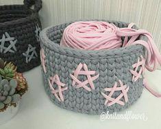 Crochet Quilt Pattern, Crochet Teddy Bear Pattern, Crochet Basket Pattern, Knit Basket, Crotchet Patterns, Crochet Bowl, Crochet Faces, Love Crochet, Knit Crochet