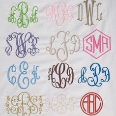 Know Your Monograms