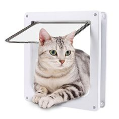 The 4-Way Locking Pet Door lets pets play the safe way – allowing them to embrace the benefits of time outdoors, while keeping them accounted for.