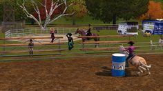sims 3 horses/ howdy