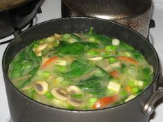 Negative Calorie Soup - Herbal Weight Loss News
