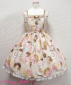 Baked Sweets Paradeジャンパースカート