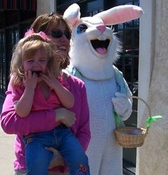 Yikes! The 65 Sketchiest Easter Bunnies