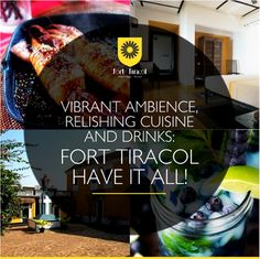 Vibrant ambience, relishing cuisine & drinks that quench your thirst with the sea as a backdrop is all you need in Goa!   #FortTiracol #Heritage #Hotel #Incredible #Goa #Fort #Vibrant #Marvellous #Travel #Trip #TravelGram #FoodGasm #NorthGoa #SeaView #Beaches #Party #Tavern #GardenCafe #India