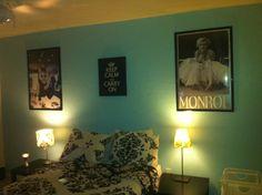 Audrey Hepburn/ Marilyn Monroe inspired room
