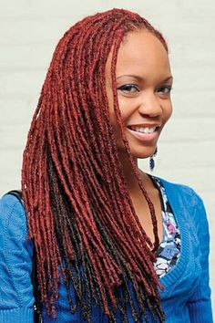 71 Best colored loc ideas images in 2019 | Natural Hair, Dreadlock ...